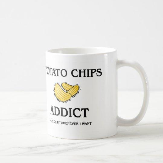 Potato Chips Addict Coffee Mug