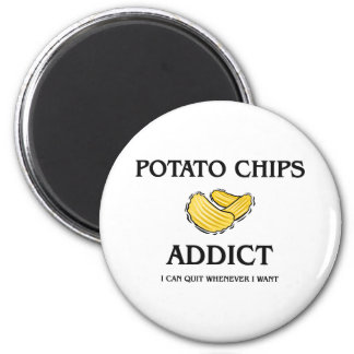 Potato Chips Addict Magnets