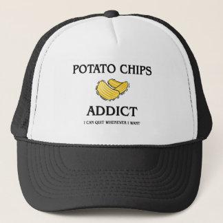 Potato Chips Addict Trucker Hat