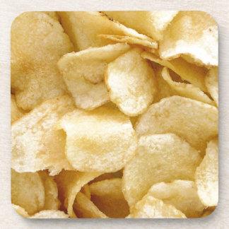 Potato chips junk food gifts coaster