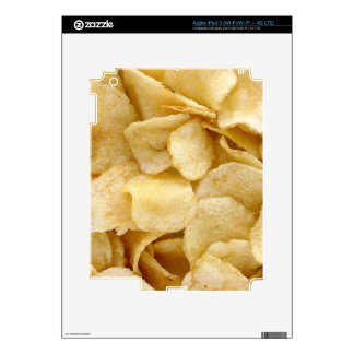 Potato chips junk food gifts decals for iPad 3