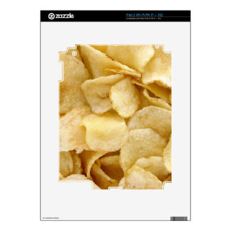 Potato chips junk food gifts skin for iPad 2