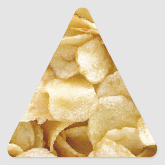 Potato chips junk food gifts triangle sticker