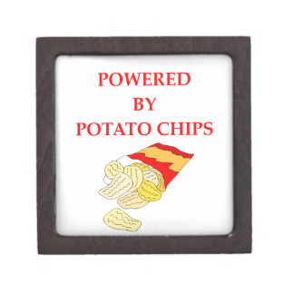 POTATO CHIPS KEEPSAKE BOX