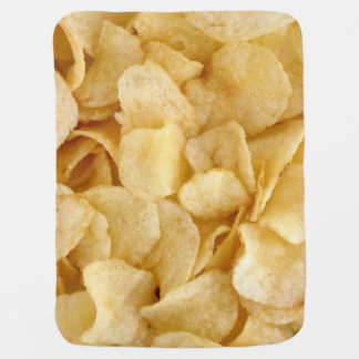 Potato chips stroller blanket