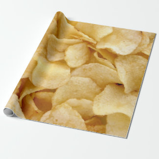 Potato chips wrapping paper