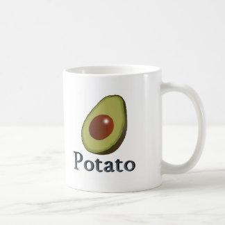 Potato Classic White Coffee Mug