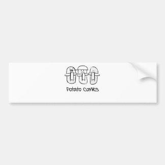 Potato Comics Bumper Sticker