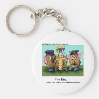 Potato Criminals Funny Mugs Tees Cards & Gifts Basic Round Button Keychain