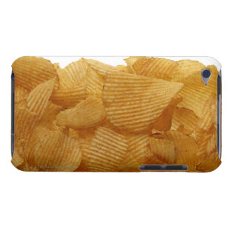 Potato crisps on white background, DFF image Barely There iPod Cover