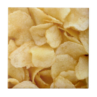 Potato crisps tile