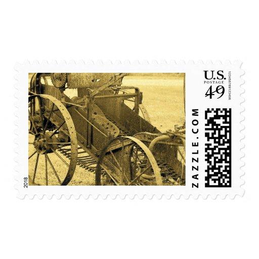 Potato Digger Postage Stamps