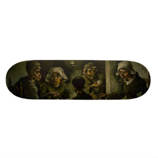 Potato Eaters by Vincent Van Gogh Skate Deck
