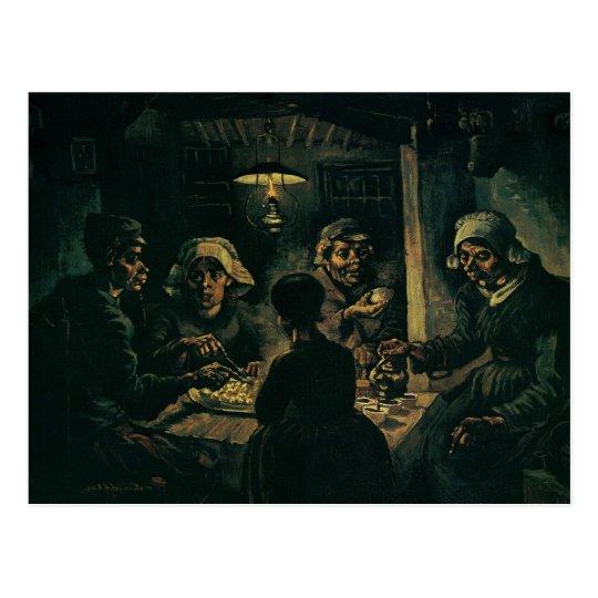 Potato Eaters, The Postcard