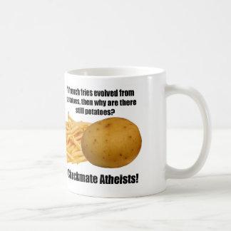 Potato Evolution Classic White Coffee Mug