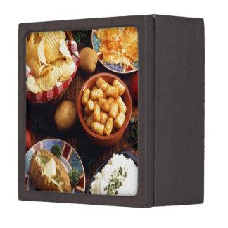 Potato Foods Keepsake Box