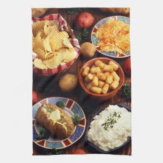 Potato Foods Kitchen Towel