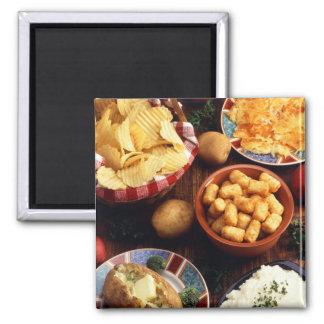 Potato Foods Magnet
