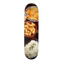 Potato Foods Skateboard