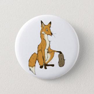 Potato Fox Pinback Button