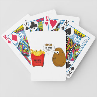 Potato French Fries is that you? Bicycle Playing Cards