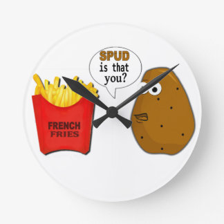Potato French Fries is that you? Wall Clock