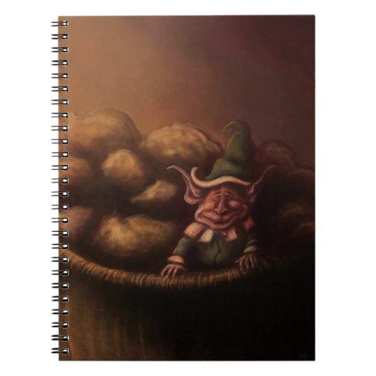 potato gnome fantasy notebook