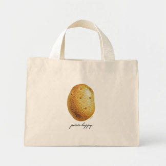 Potato Happy Mini Tote Bag
