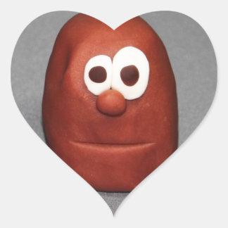 Potato Head Play Dough Heart Sticker