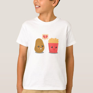 Potato is Heart Broken over French Fries T-Shirt