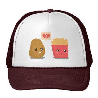 Potato is Heart Broken over French Fries Trucker Hat