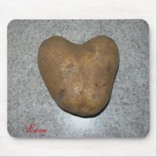 potato love mouse pad