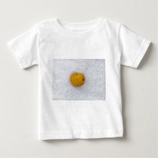 Potato macro as background with salt shirt
