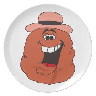 Potato Melamine Plate