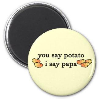 Potato Papa Magnets