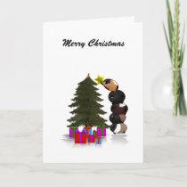 Potato Pigs - Merry Christmas Holiday Card