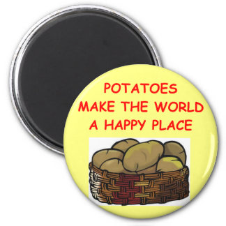 potato potatoes fridge magnet