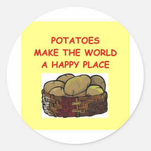 potato potatoes sticker