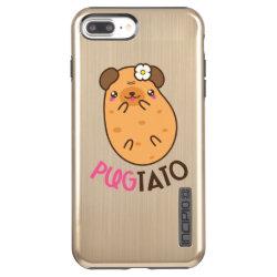 Incipio DualPro Shine iPhone 7 Plus Case with Pug Phone Cases design
