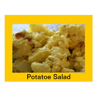 Potato Salad Recipe Postcard