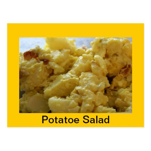 Potato Salad Recipe Postcard