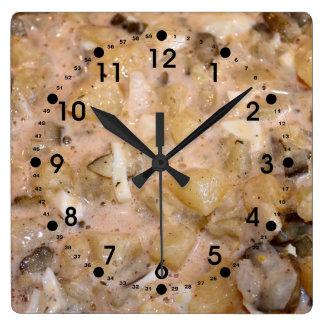 Potato Salad Wall Clock