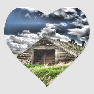 Potato Shed in a Storm - Heart Sticker