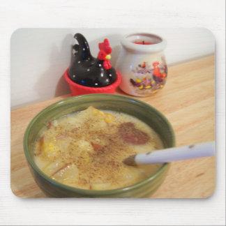potato soup mouse pad