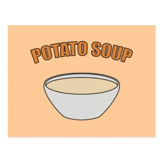 Potato Soup Postcard