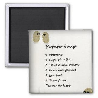 Potato Soup Recipe Magnet