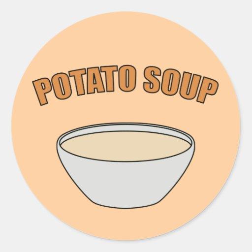 Potato Soup Sticker