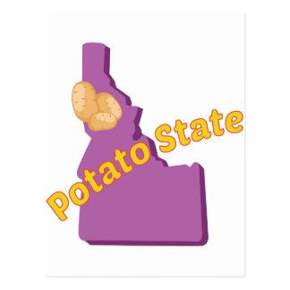 Potato State Postcard