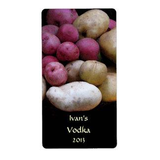 Potato Vodka Labels