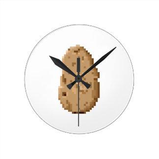 Potato Wall Clocks